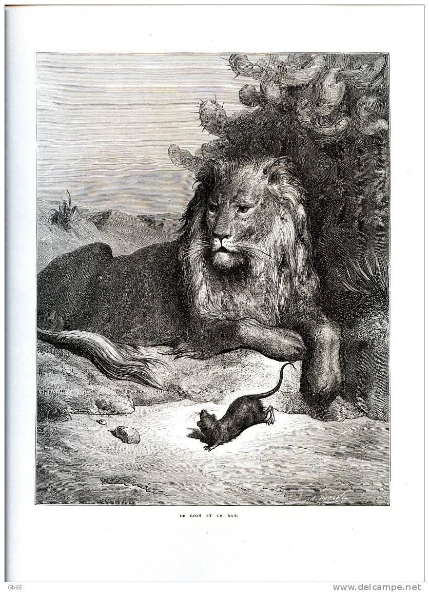 Le Lion Et Le Rat La Fontaine : fontaine, Scriptum, Twitter:,