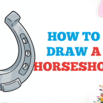 Easy Drawing Guides On Twitter How To Draw A Horseshoe Easy To Draw Art Project For Kids See The Full Drawing Tutorial On Https T Co Ec2rkzizfd Horseshoe Howtodraw Drawingideas Https T Co Trgvxlgtny