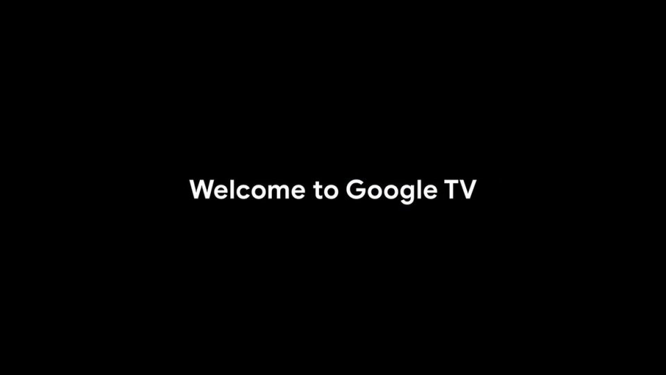 Image for the Tweet beginning: Welcome to Google TV. The