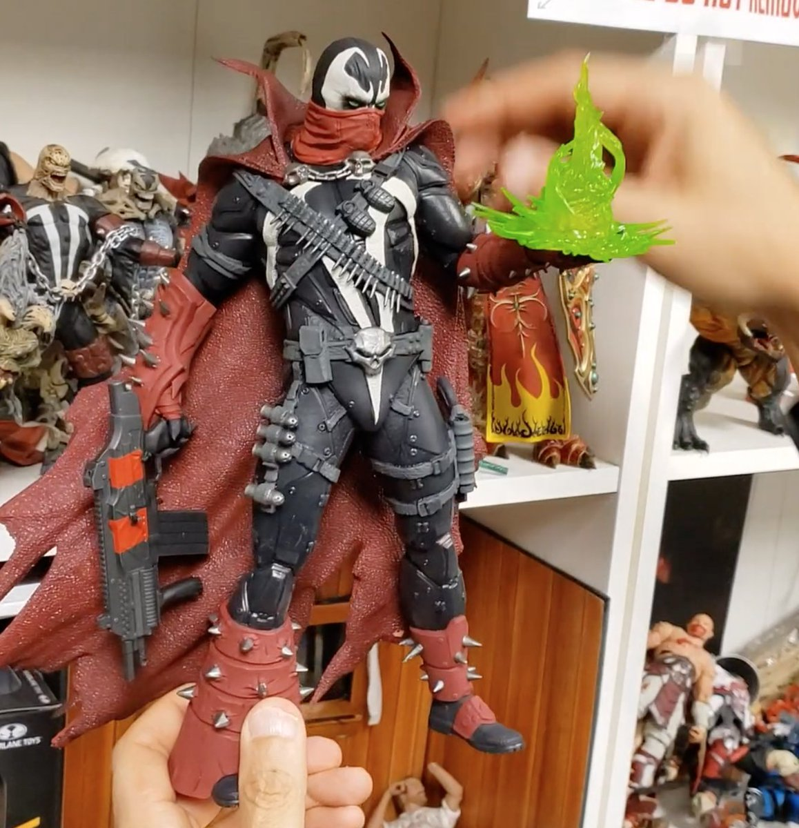 Todd Mcfarlane On Twitter Sexy Spawn Saturday With A New Spawn Action Figure Your First Look At 12 Commando Spawn From Mcfarlane Toys Joining The Mortalkombat Line In Spring 2021 Here Https T Co Viykubzpok