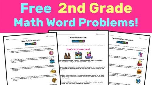 small resolution of Mashup Math on Twitter: \New! Free 2nd Grade Math Word Problems Worksheets!  https://t.co/yRW0rySBRI #2ndchat #elemmathchat… \