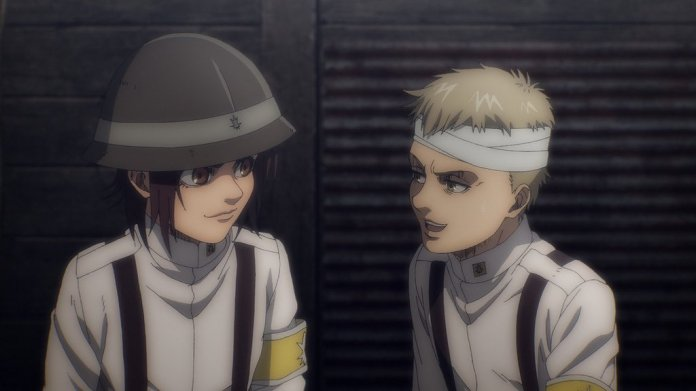 """Attack on Titan Wiki on Twitter: """"New image of Gabi and Falco… """""""