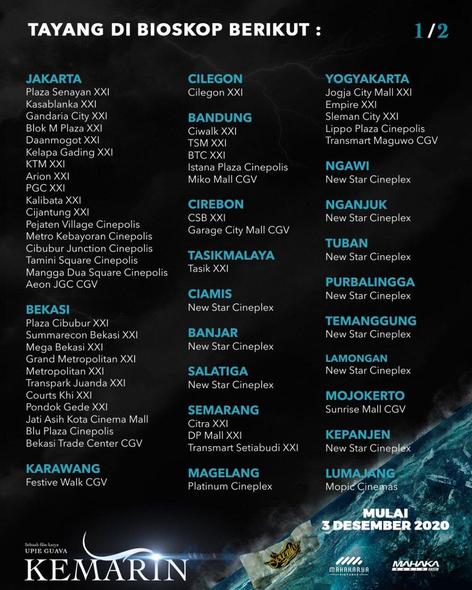Jadwal Bioskop Xxi Plaza Cibubur : jadwal, bioskop, plaza, cibubur, Dendi, Reynando, (@dreynando), Twitter