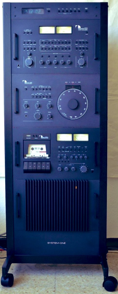 nakamichi system one rack stereo system