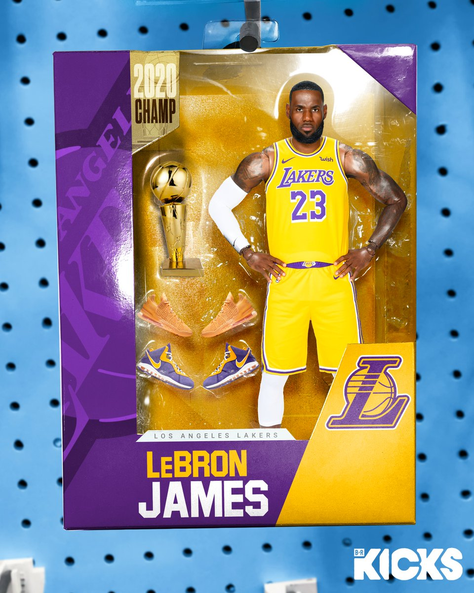 B R Kicks On Twitter One Day Away From The Nba Season Which Action Figure And Sneaker Set Would You Cop