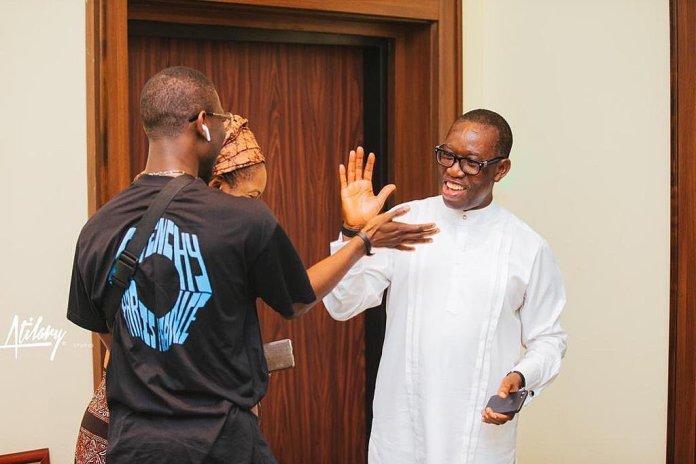 Gov Okowa Hails his son 'Mavin' on his birthday