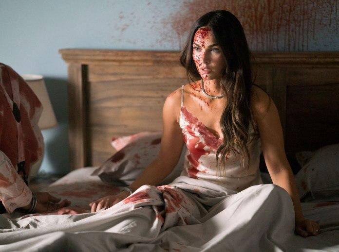"""Fear Catalogue on Twitter: """"Till Death, 2021: Promotional stills of Megan  Fox on set.… """""""