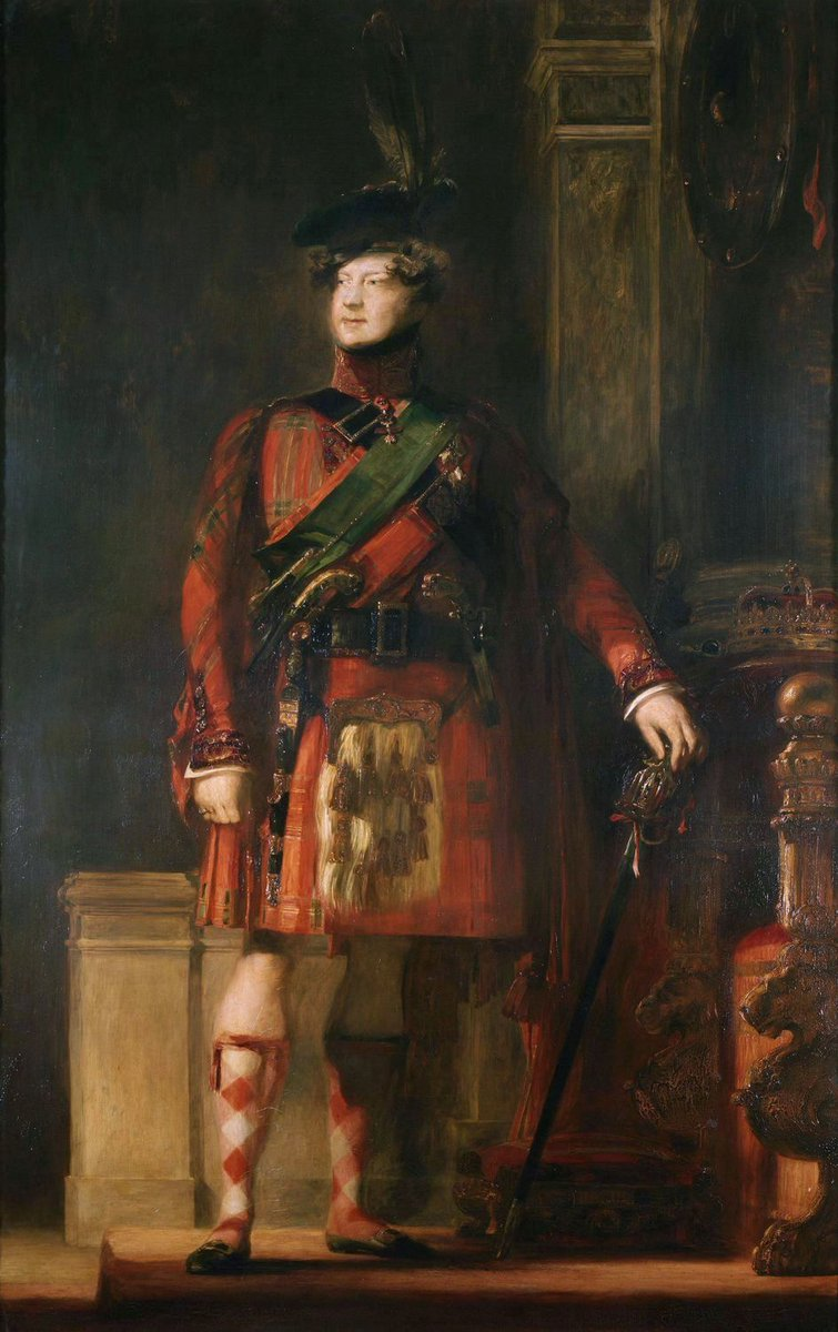 Official portrait of King George IV... vs..