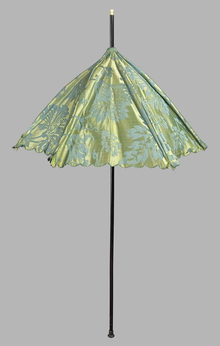 Parasol - 18th century - Boston Museum of Fine Art - Public Domain