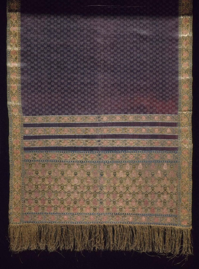 Man's sash, Museum of Fine Arts, Boston - Public Domain