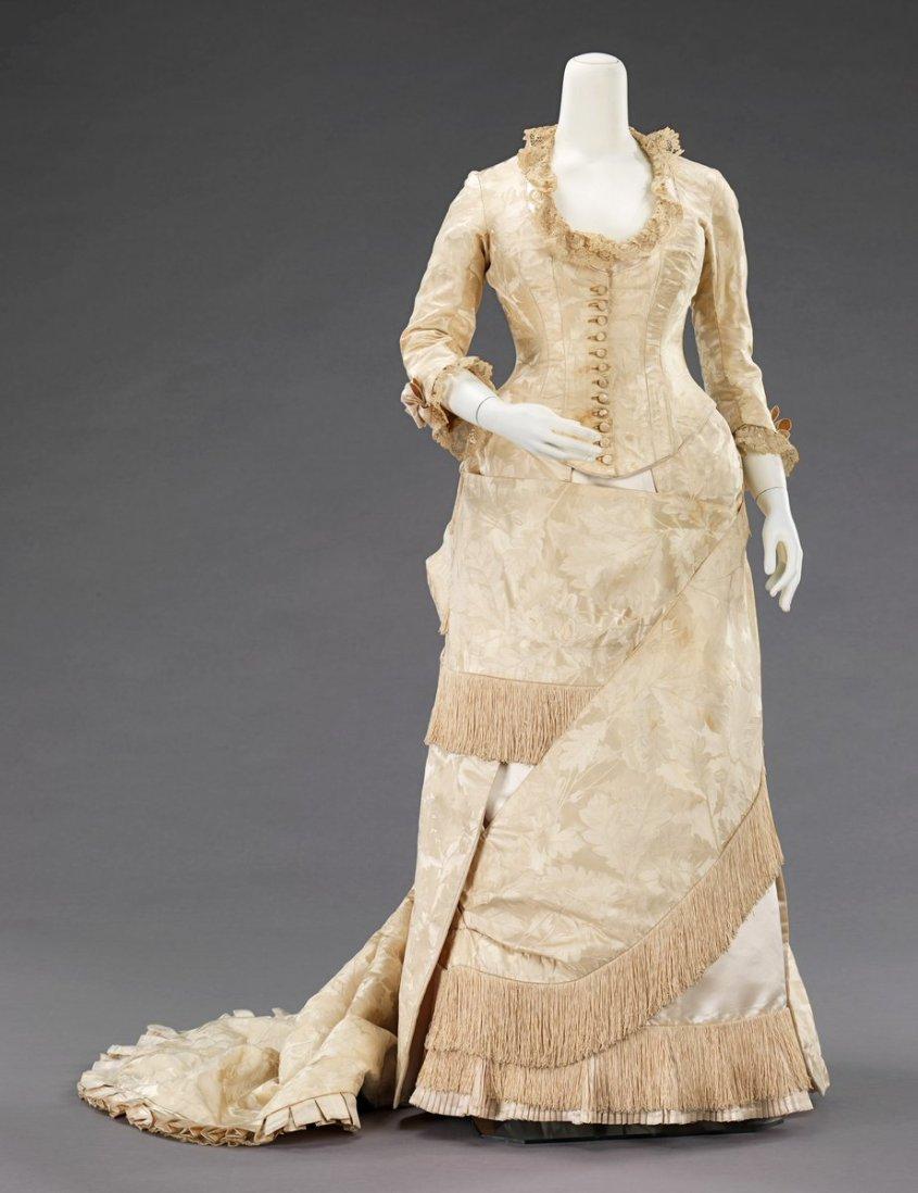 Dress - 1883 - 1885 - Met Museum, Public Domain