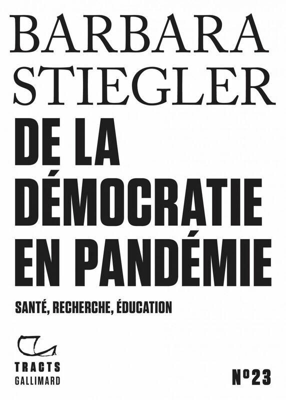 Barbara Stiegler Il Faut S'adapter : barbara, stiegler, s'adapter, TractsGallimard, (@TractsGallimard), Twitter