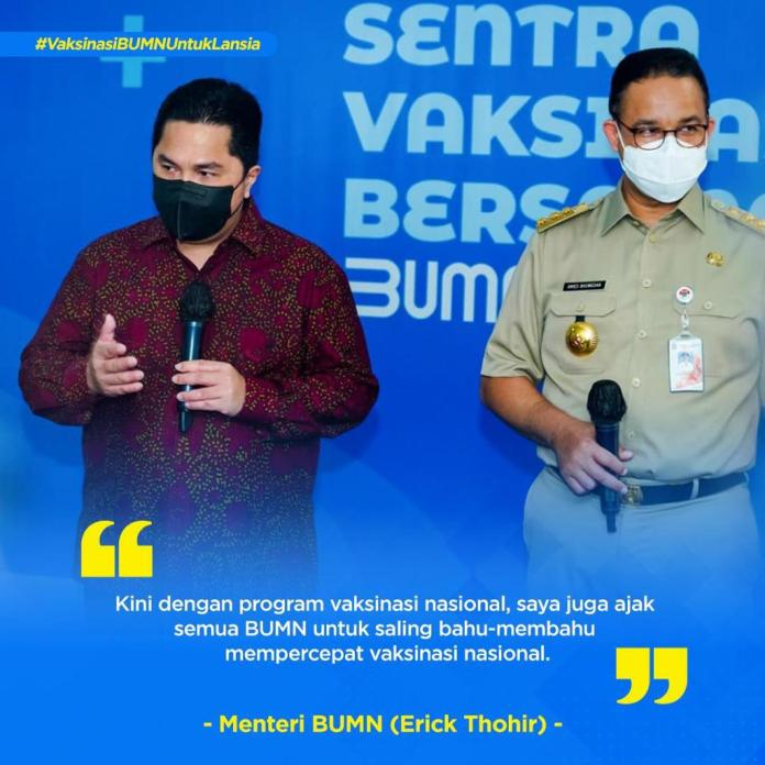 Pt Bank Negara Indonesia Persero Tbk V Twitter Senin 8 3 21 Proses Vaksinasi Lansia Di Istora Senayan Jakarta Berjalan Lancar Kegiatan Hasil Kolaborasi Antara Kementerian Bumn Kementerian Kesehatan Pemda Dki Ihc Indonesia