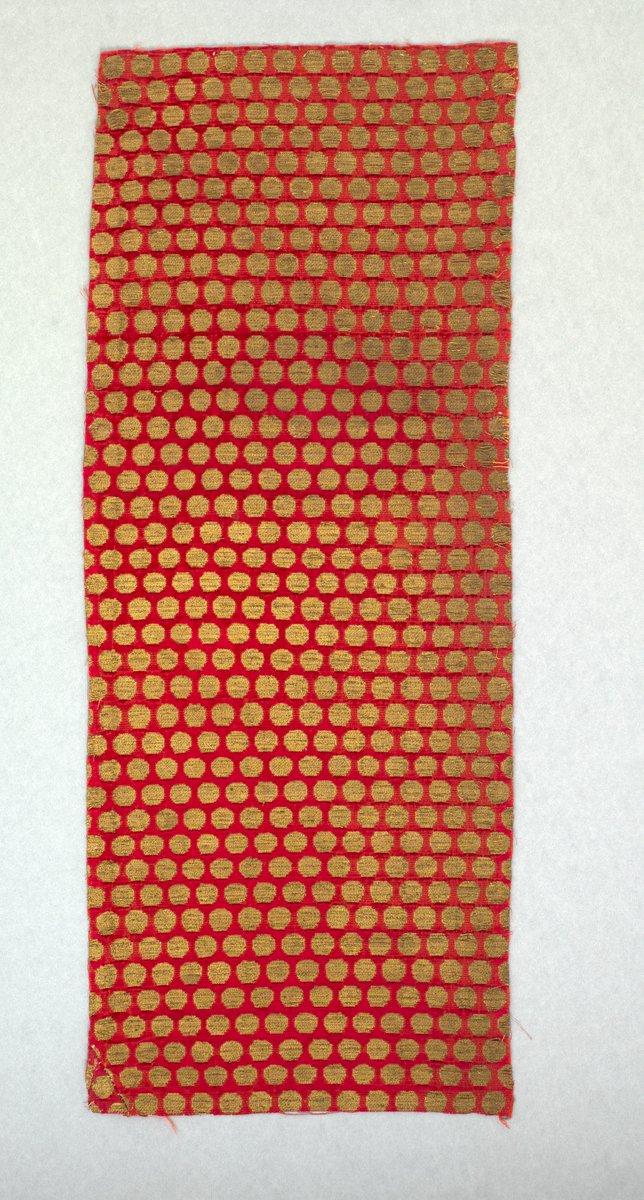 IRANIAN VELVET PANEL Panel of velvet late 13th–14th century  Iranian, probably Tabriz