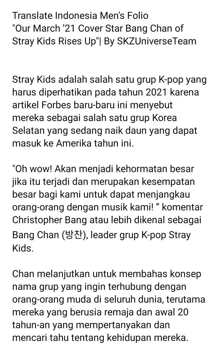 Translate Indonesia Ke Korea Selatan : translate, indonesia, korea, selatan, Official, Straykids.universe_'s, Tweet,