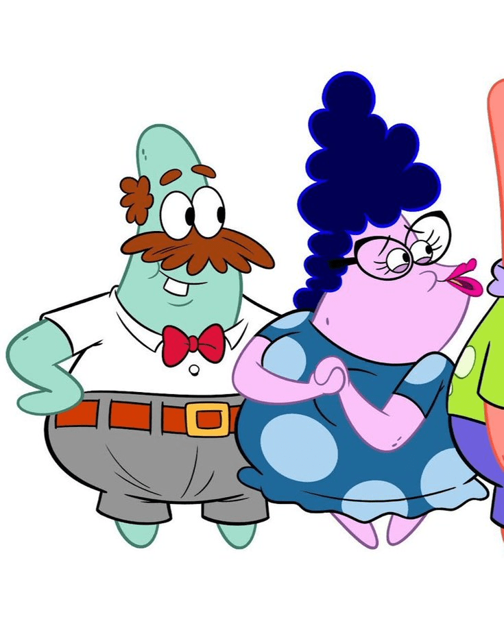 Patrick's Parents : patrick's, parents, TRAFON(s, Backup, Account), Twitter:, Vincent, Waller,, Patrick's, Parents, Designs, Changed, Because, Wanted, Dynamic, Boring, Characters, Patrick, Show,, They'll