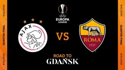 """UEFA Europa League on Twitter: """"🇳🇱 Ajax 🆚 Roma 🇮🇹 #UELdraw… """""""