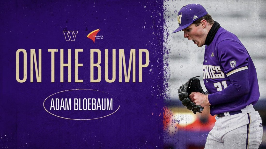 test Twitter Media - 30 minutes until we get started against Seattle U in game three of our series!  Adam Bloebaum gets the start for the Dawgs as we look to get the sweep!  💻 https://t.co/6O5GqDUs3k 📊 https://t.co/Q3iKSRywd8  #DaWgStrong /// #GoHuskies https://t.co/V12AWdCZSt