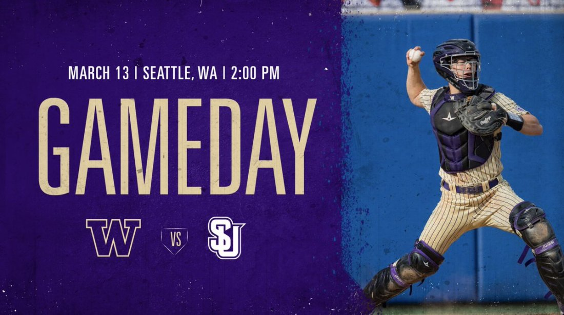 test Twitter Media - It's Game Day, Dawg Fans!  Going for the three-game sweep over Seattle U, with first pitch scheduled for 2:00 p.m. at Husky Ballpark!  💻 https://t.co/6O5GqDUs3k 📊 https://t.co/Q3iKSRywd8  #DaWgStrong /// #GoHuskies https://t.co/EnQ5TtUrck