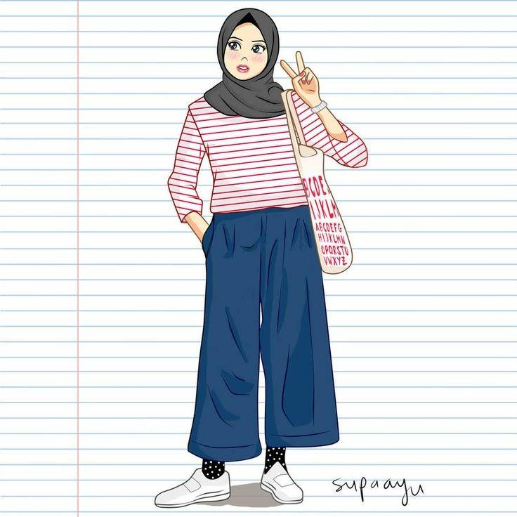 Tbme sky aesthetic, aesthetic images, aesthetic photo, tumblr photography,. Wallpaper Aesthetic On Twitter Bagi Photo Profil Wa Hijab Cartoon Hijab Cartoon Cartoonhijab Lilac Likeforlikes Follow Retweet