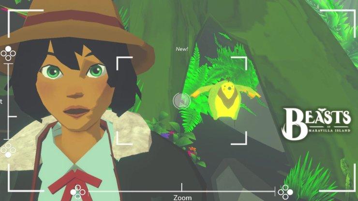 Beasts of Maravilla Island juego indie fotografía pokémon snap