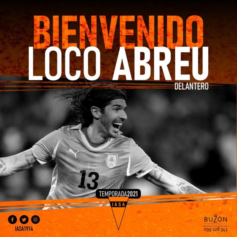 """Fernando Sinsolo on Twitter: """"#LOCO 🍊 El """"loco"""" es naranja....Washington Sebastián Abreu es nuevo jugador de @IASA1914 #SudAmerica #IASA #Abreu… """""""