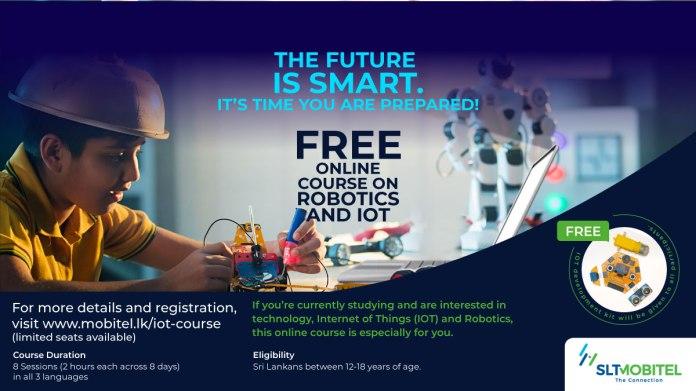 SLT-MOBITEL Commences Free Online Course in Robotics & IoT for Tech Evolution of Future Generations   LankaTalks English   Sri Lanka News