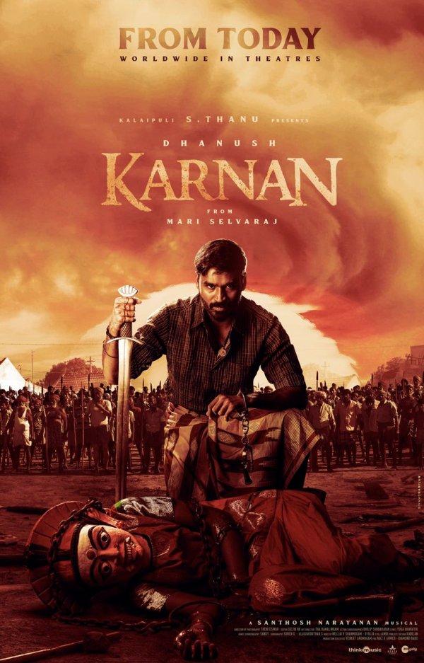 "Dhanush on Twitter: ""#Karnan FROM TODAY… """