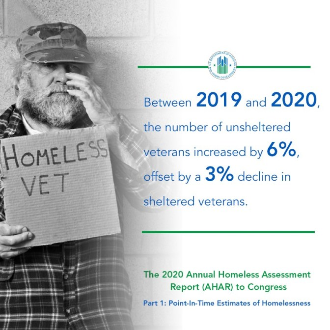 "Please don't give us ""functional zero"" solutions. That never made sense and was an insult to our vets. If you are going to end veterans homelessness then do it. Not on paper and not theoretically, but actually end veteran's homelessness. It is possible."