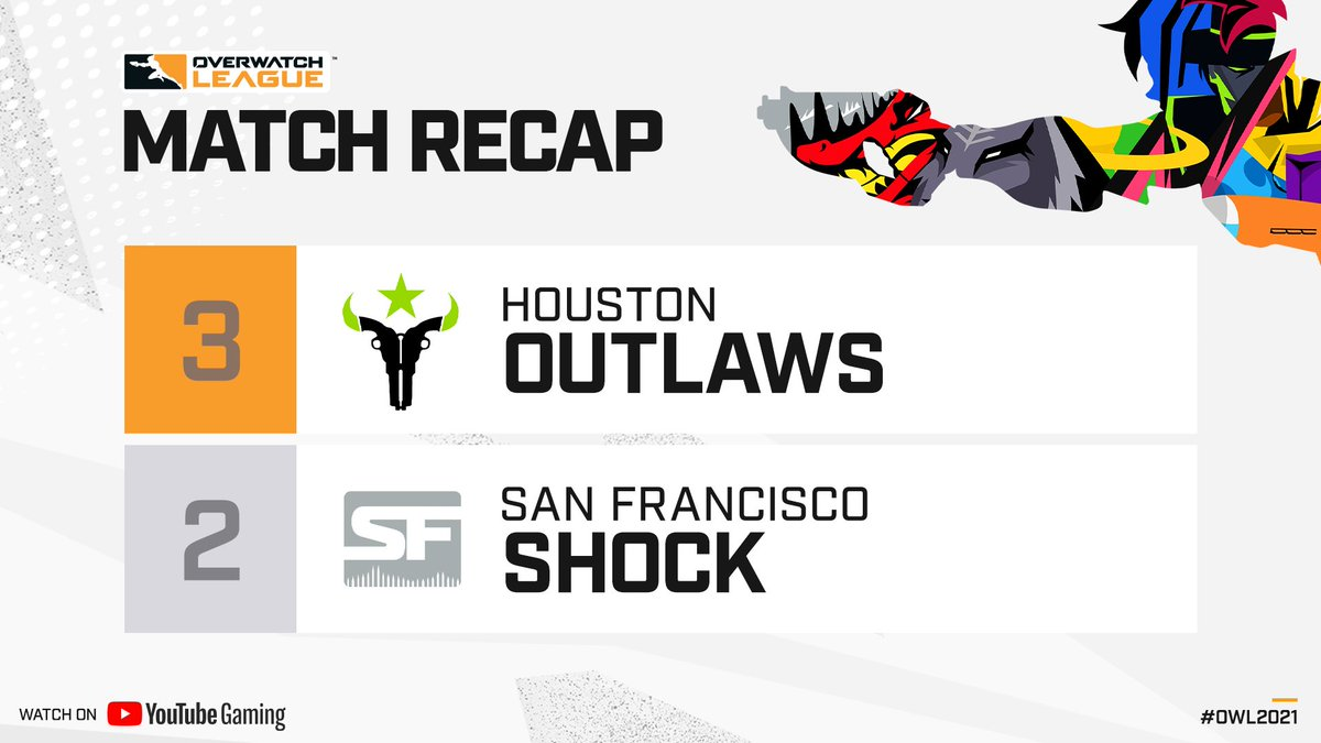 """Overwatch League on Twitter: """".@itsmelimmy, you are a genius. In an incredible 6-map series, the @Outlaws prevail over the @SFShock! #AnteUp #OWL2021… https://t.co/UzARh9Noz1"""""""