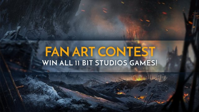 Frostpunk Fanart Competition - active from the 21st of April to the 5th of May