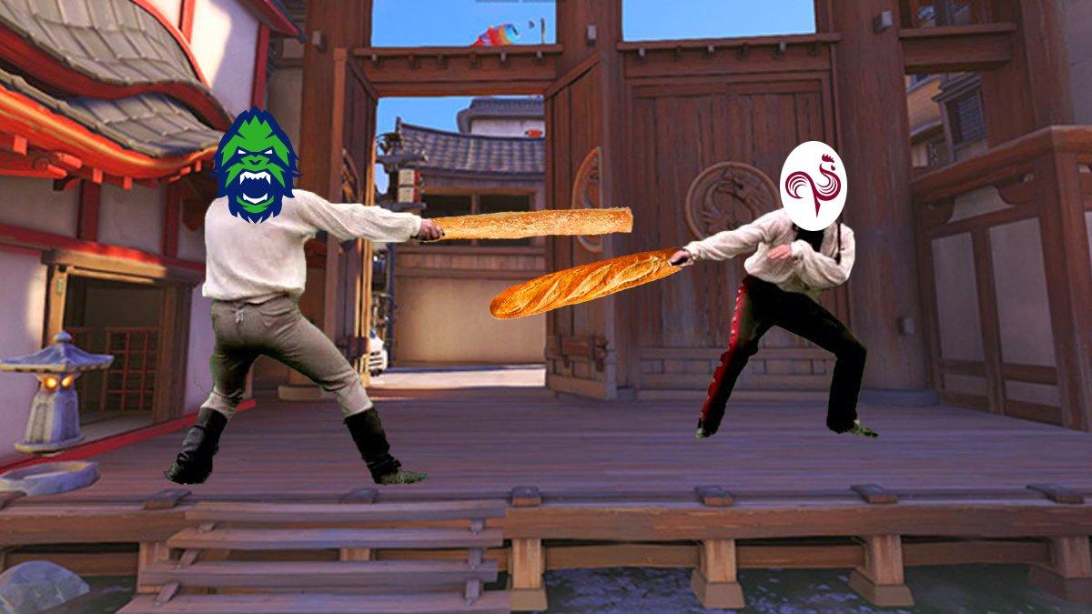 Vancouver Titans Breadsticks Paris Eternal Baguette