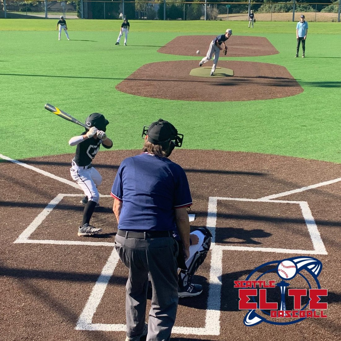 test Twitter Media - Amazing weather for week 3 of Seattle Elite Fall Ball! 13U action at Meadowdale Playfields this morning. 40+ teams in action across the Puget Sound today! https://t.co/3fZvNxaint