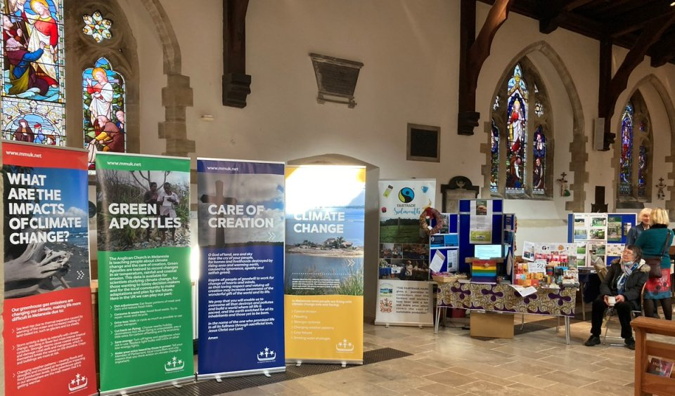 Many thanks to Sidmouth Parish Church for displaying at their science festival our climate change exhibition panels & for raising awareness of…