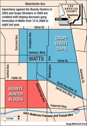 Watts Gang Map : watts, Research, (@gangresearch), Twitter