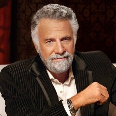 dos equis man on