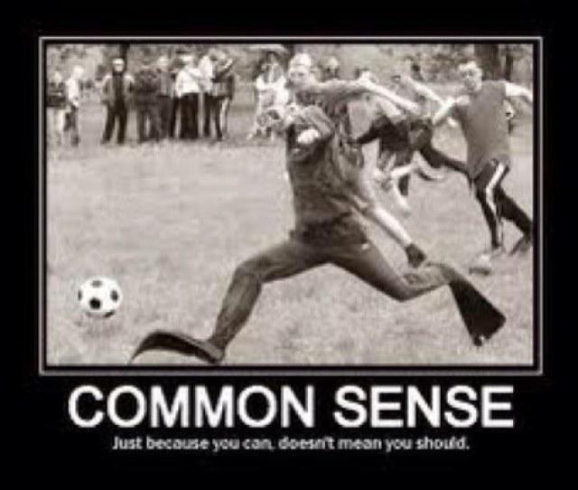 Common Sense Says