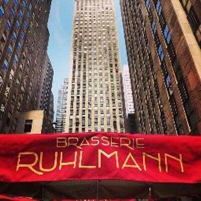 Brasserie Ruhlmann Ruhlmann_NYC  Twitter