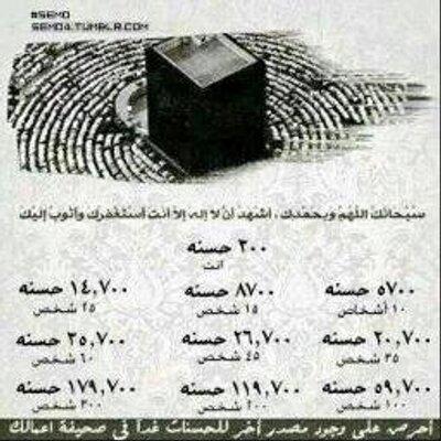 هشتاق الاستغفار в твиттере أول من قال سبحان ربي الأعلى