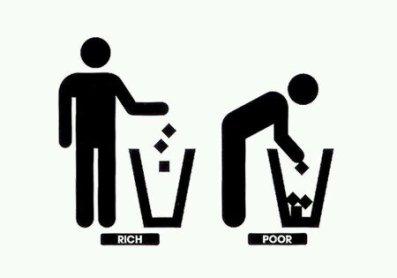 Znalezione obrazy dla zapytania rich vs poor