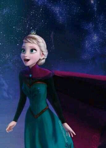 elsa snow queen on