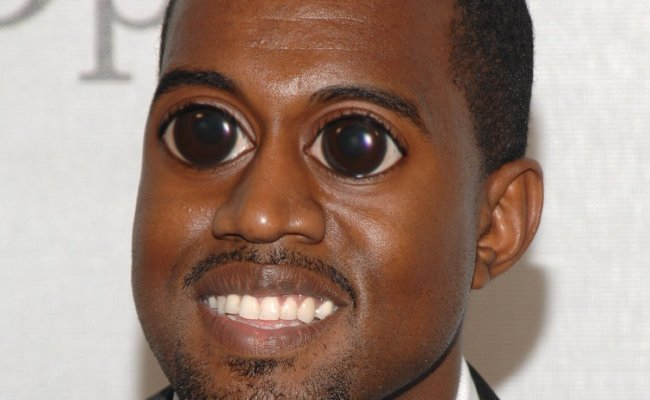 Celebs With Big Eyes On Twitter Kanye West Http T Co