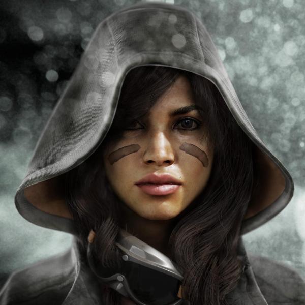3D Character Portraits