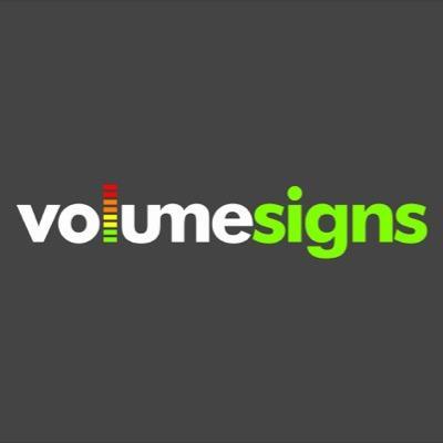 Volume Signs (@volumesigns)  Twitter