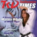 Image result for rondy mckee white tiger taekwondo