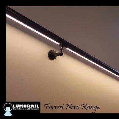 the forrest nero range black stainless