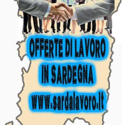 Offerte di lavoro in Sardegna on Twitter San Giovanni