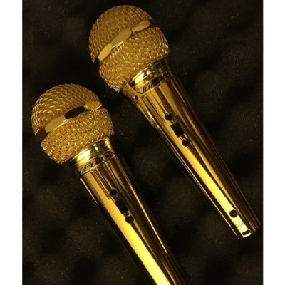 our golden mic on