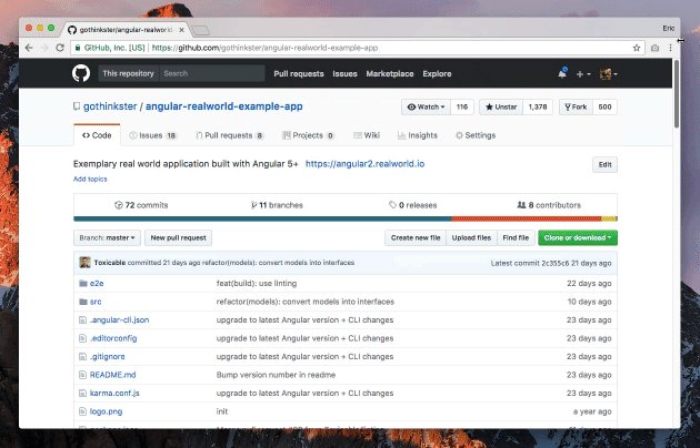 Run #Angular CLI repositories from GitHub directly in your browser with @stackblitz
