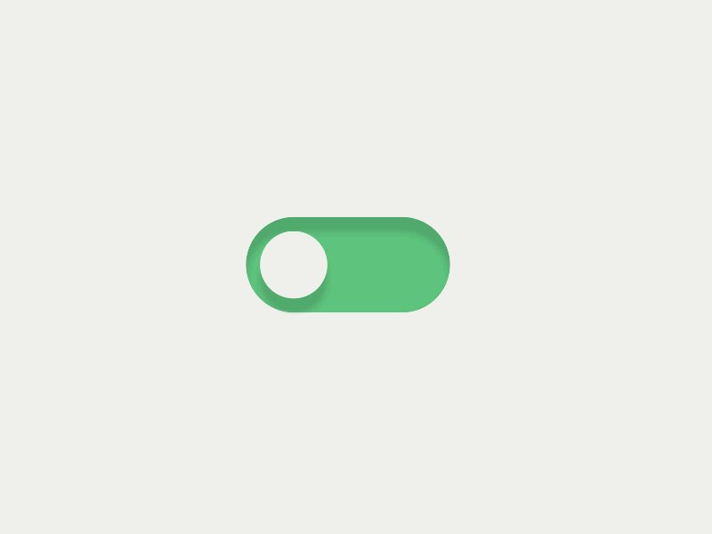 Clean React Toggle @CodePen  @greensock @reactjs #svg #animation #ui #minimal